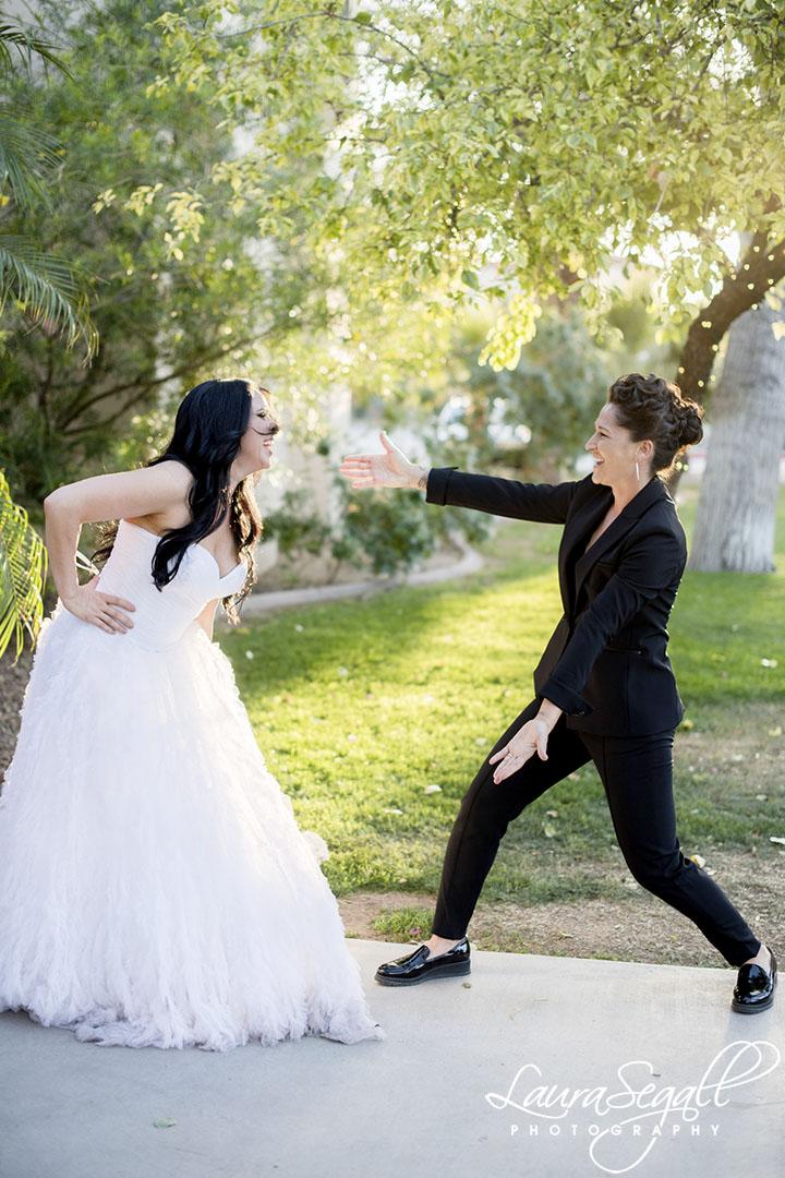 two Phoenix brides