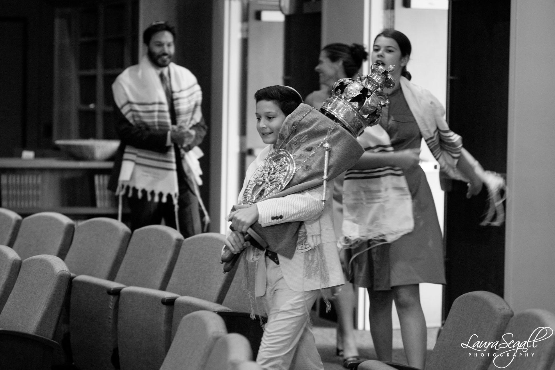 Temple Solel Bar Mitzvah photography