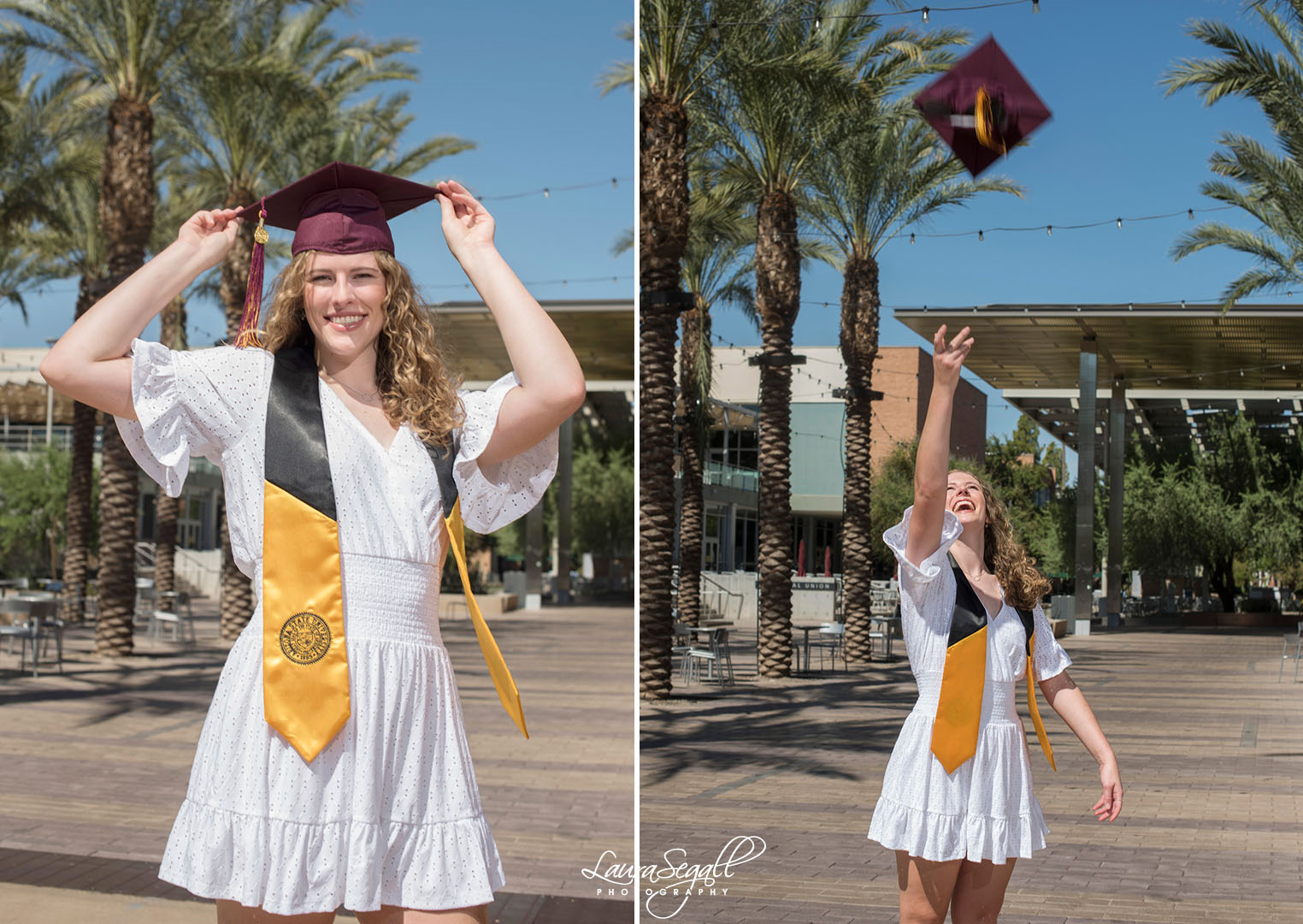 Arizona State University graduation pictures