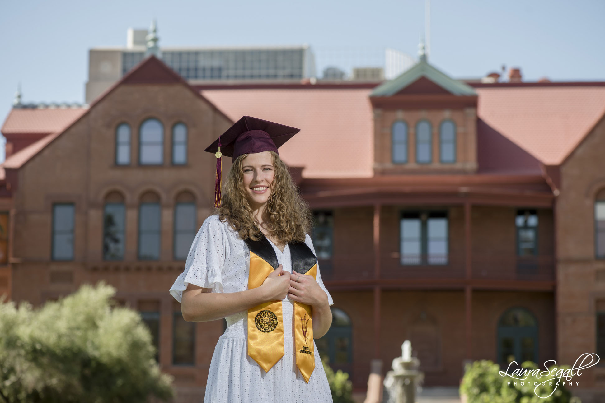 Old Main Arizona State University graduation pictures
