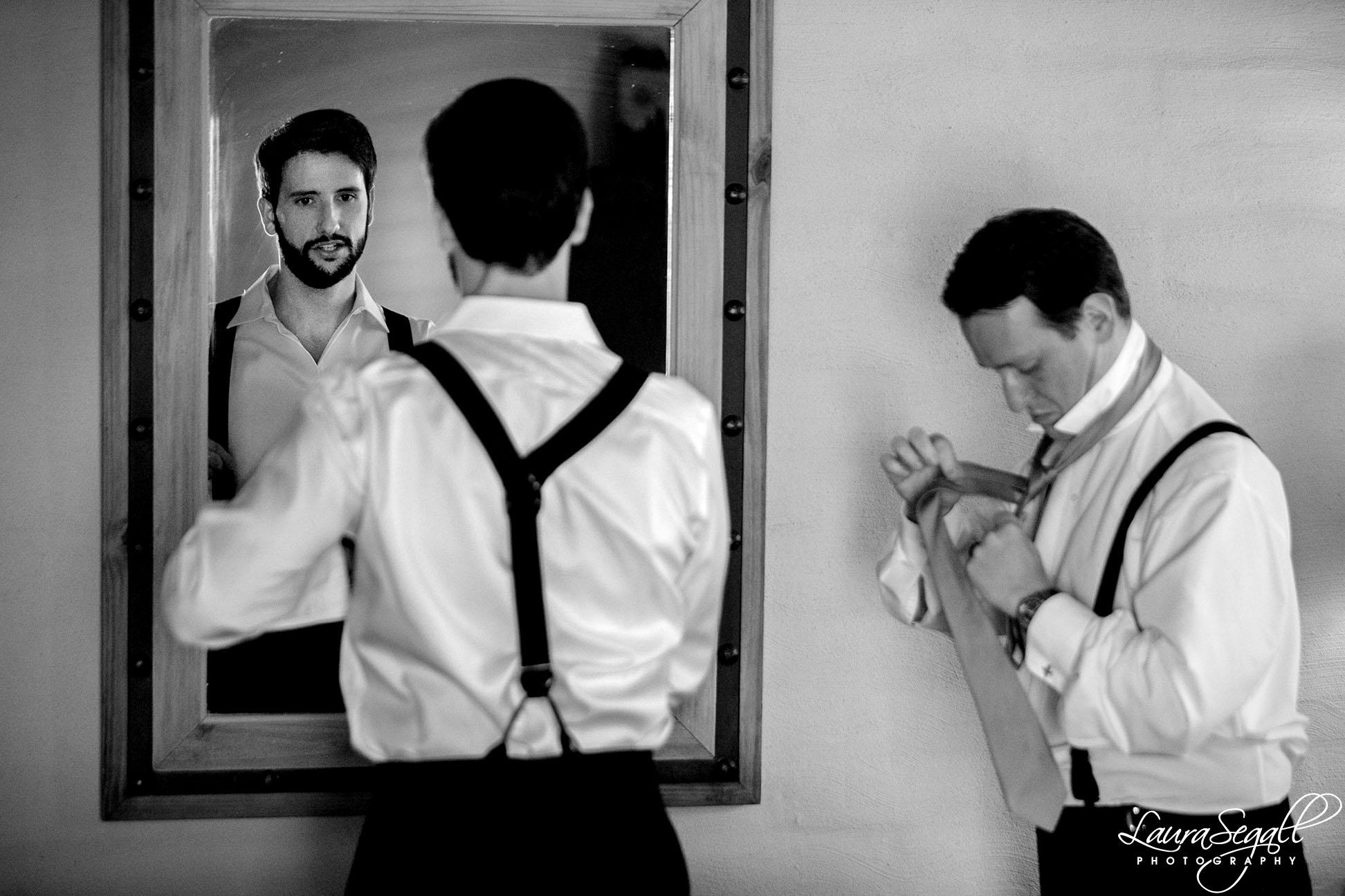 groom get ready