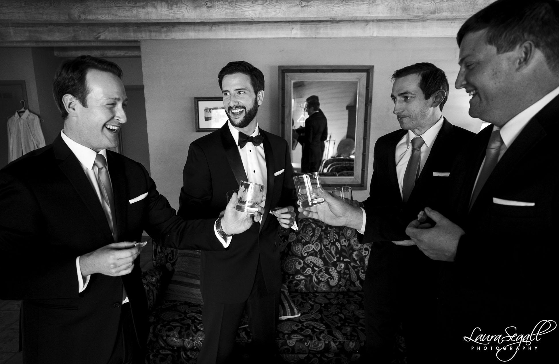 groomsmen hangout