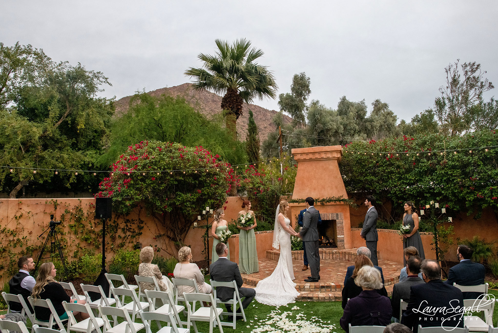 Royal Palms wedding ceremony