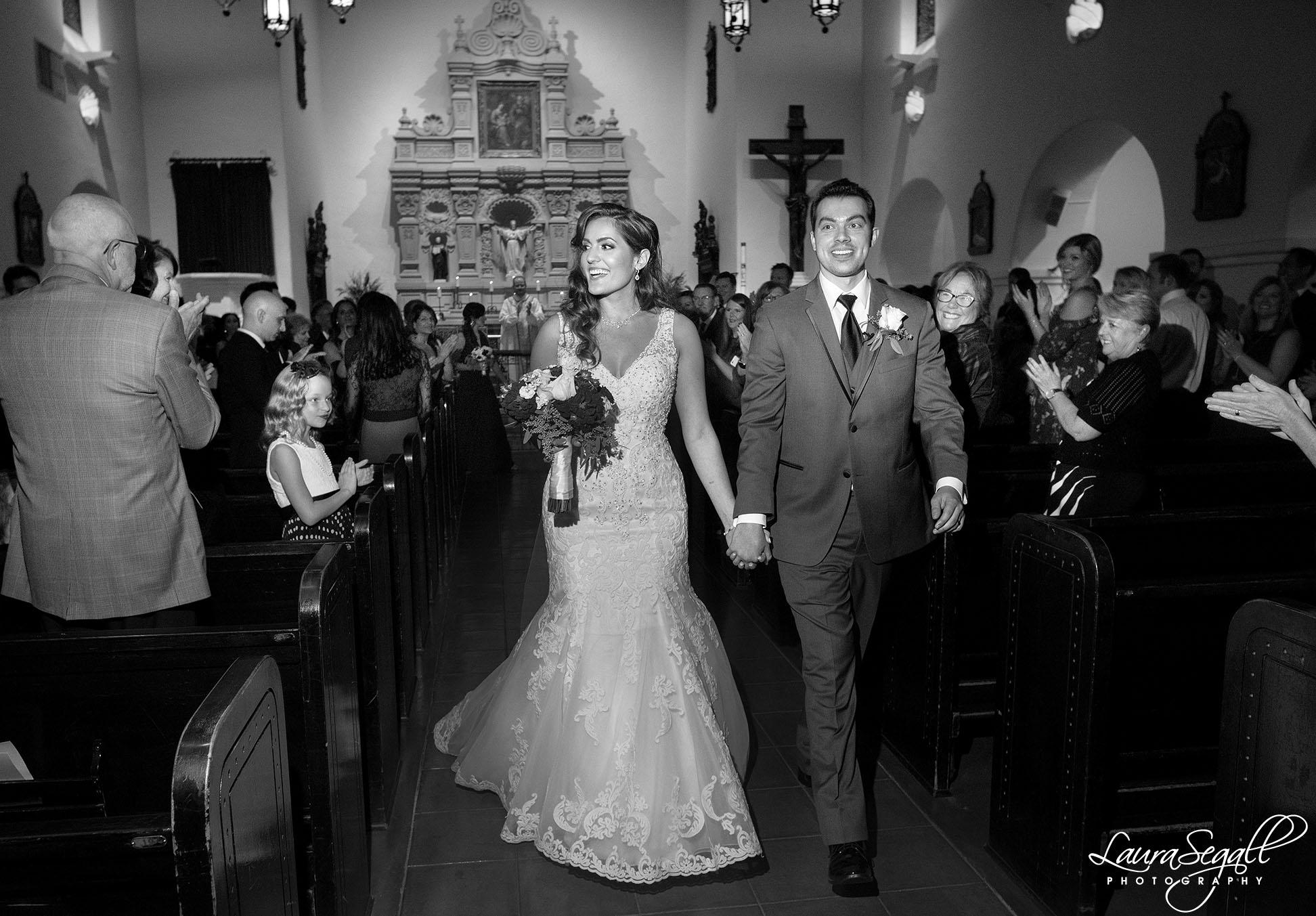 Brophy Chapel wedding