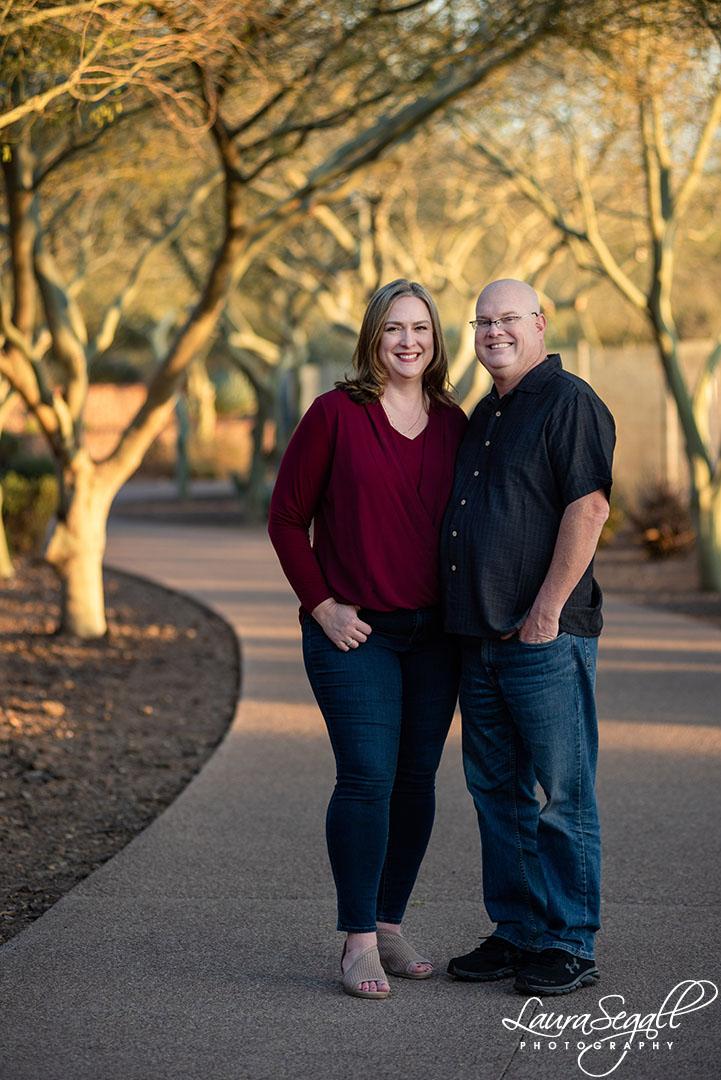 anniversary portrait photo shoot