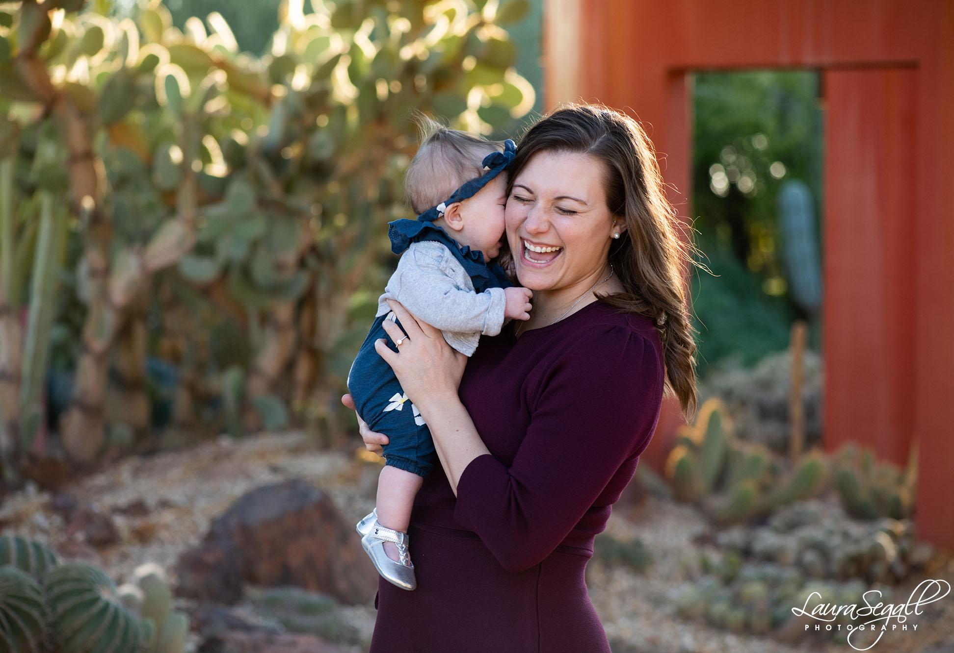 Desert Botanical Garden engagement photos