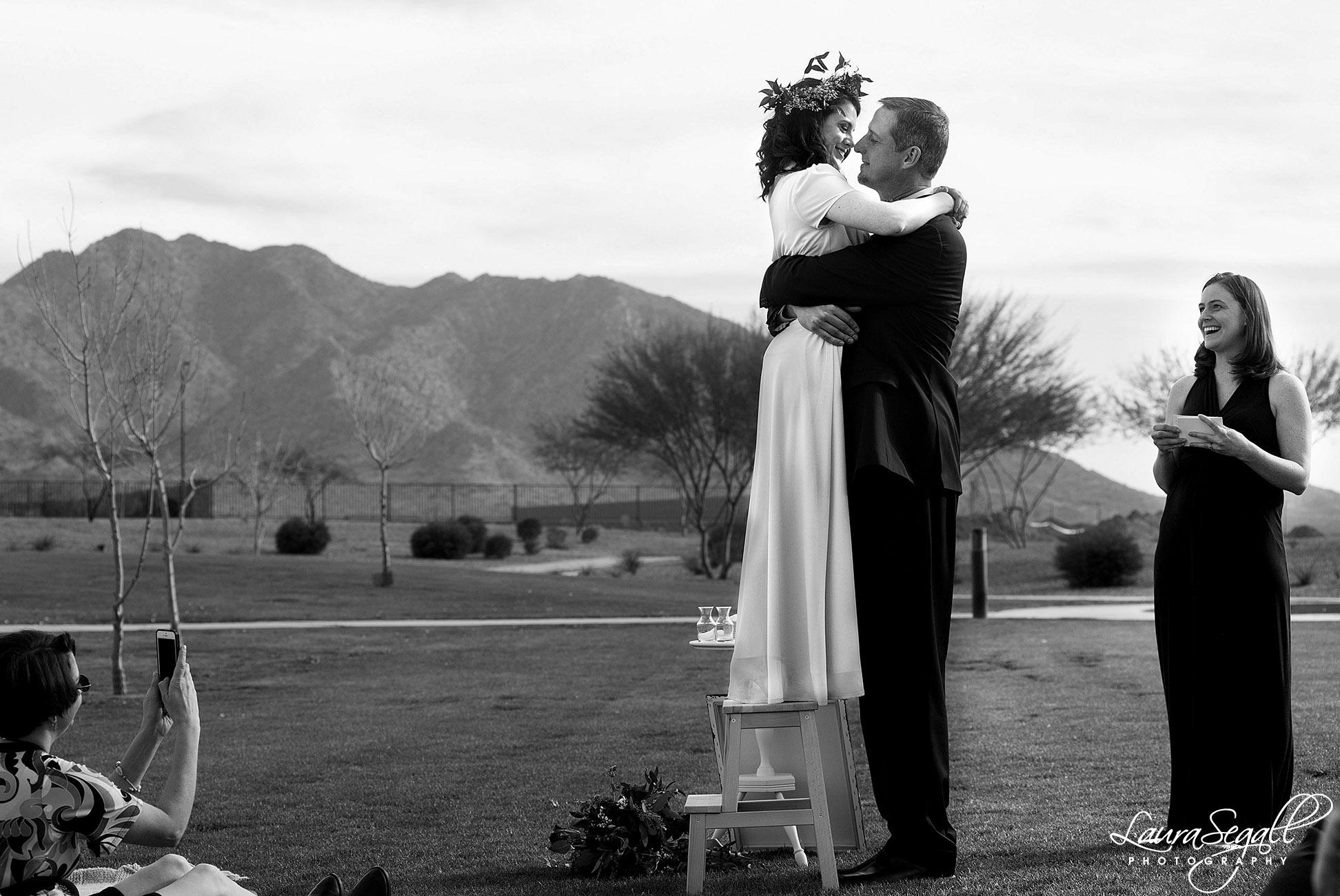 San Tan Mountain Regional Park wedding