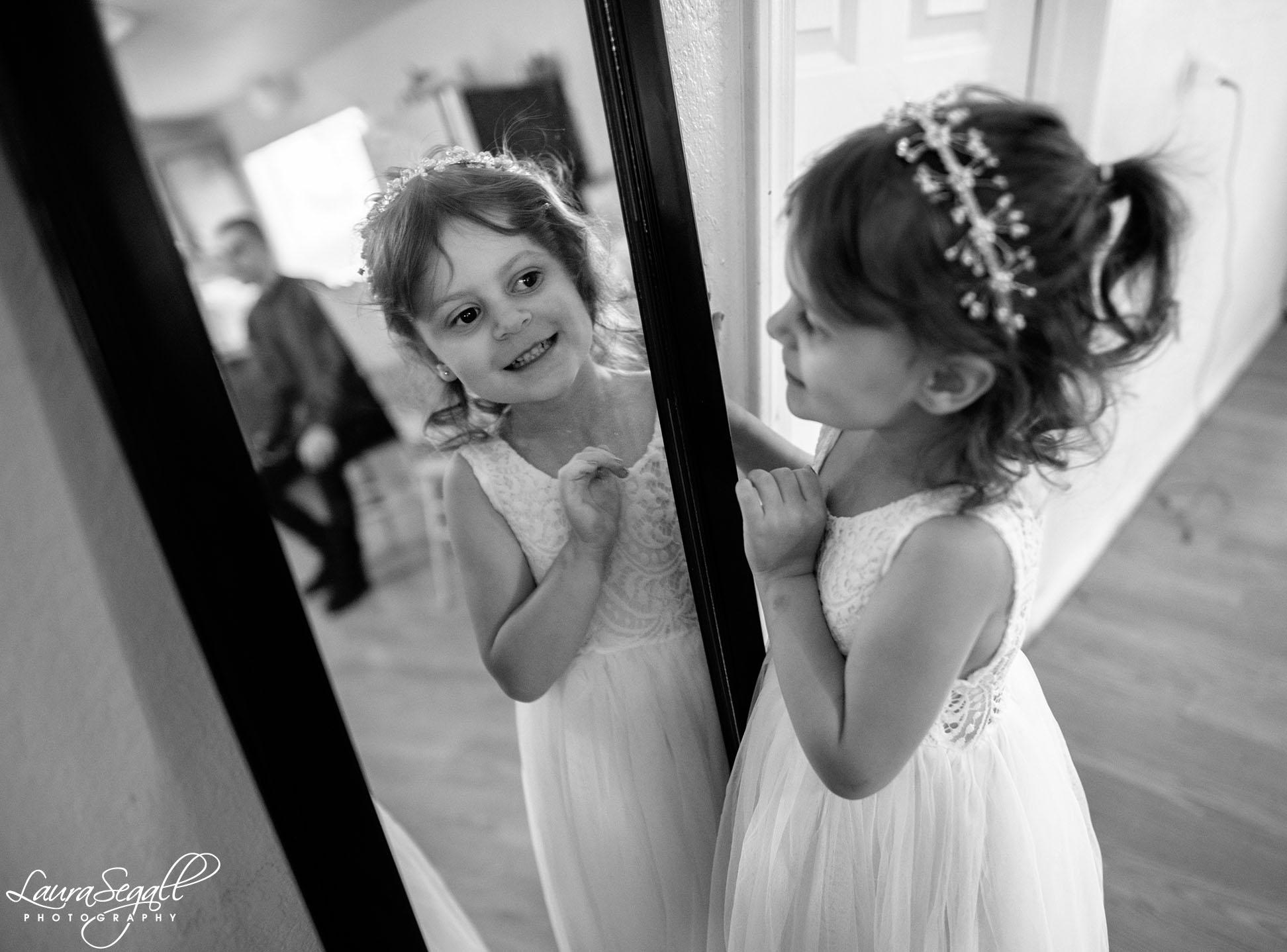 flowergirl mirror