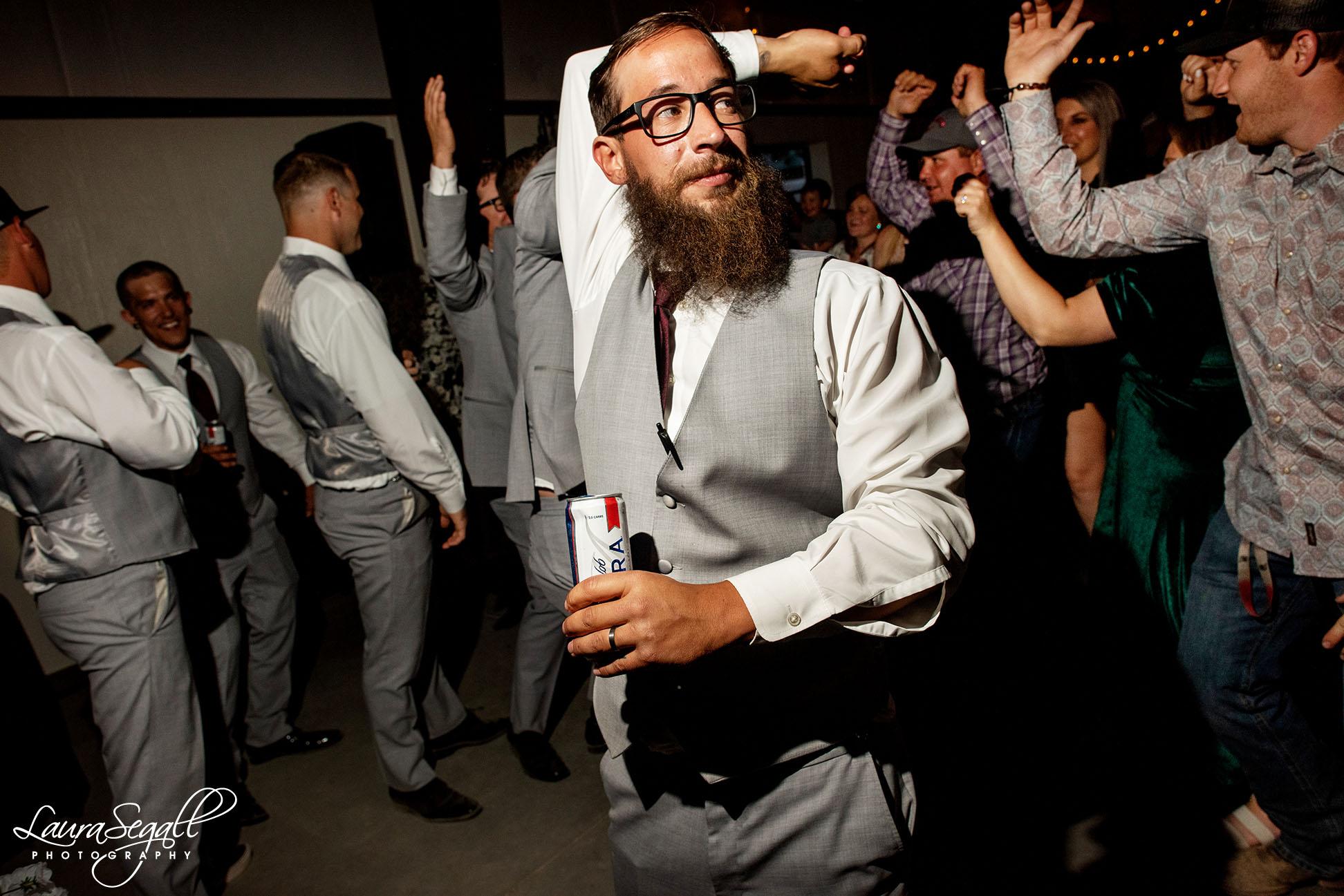 groomsmen dance