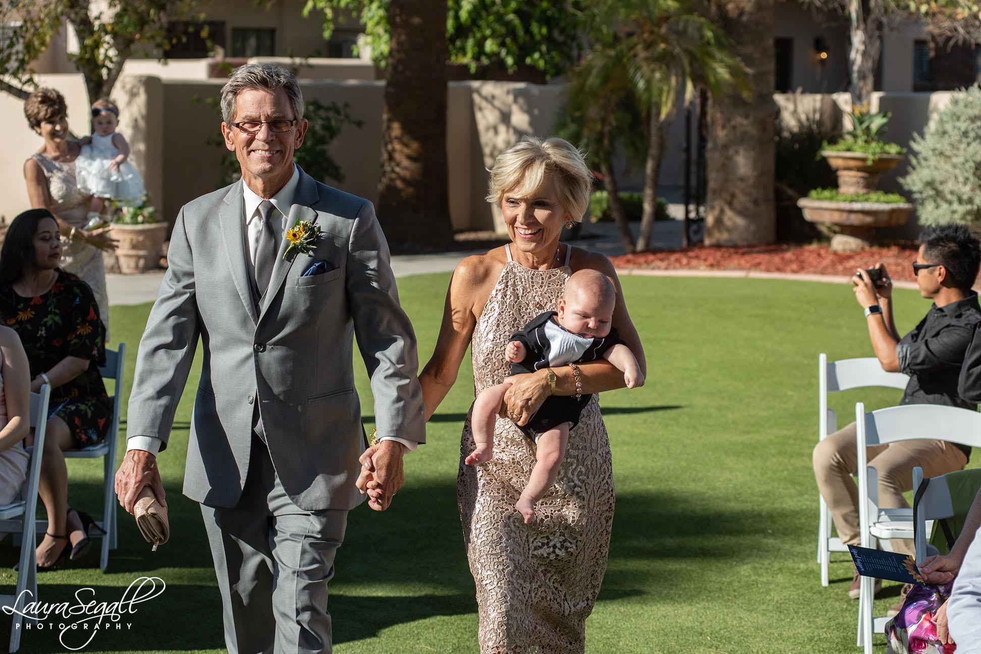 groom's parents
