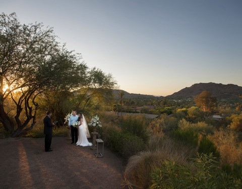 Sanctuary Camelback Mountain Resort elopement