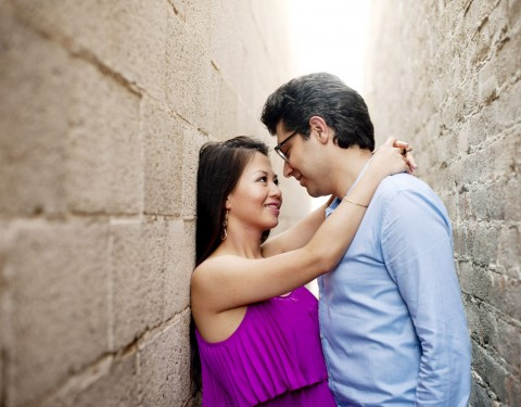 engagement pictures in Old Town Scottsdale