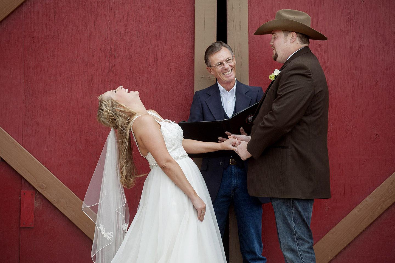 Desert Foothills wedding ceremony