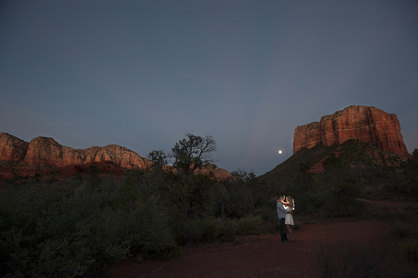 Sedona twilight