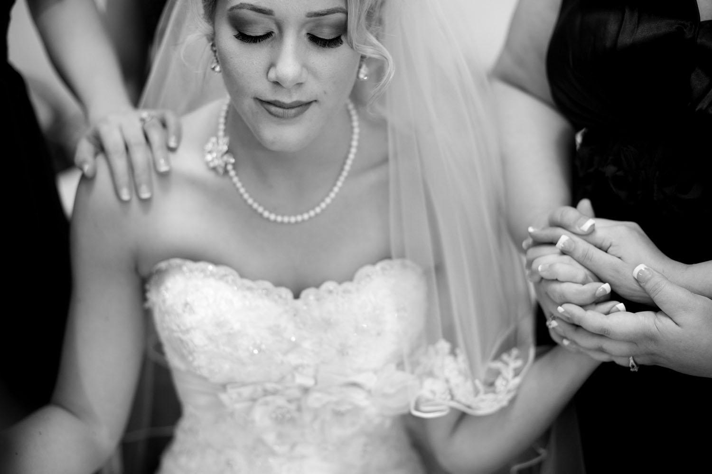 Secret Garden wedding bride