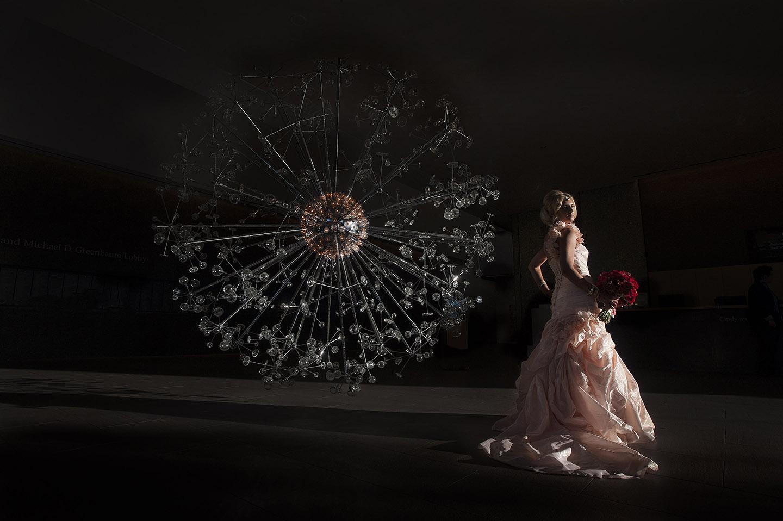 Phoenix Art Museum bride