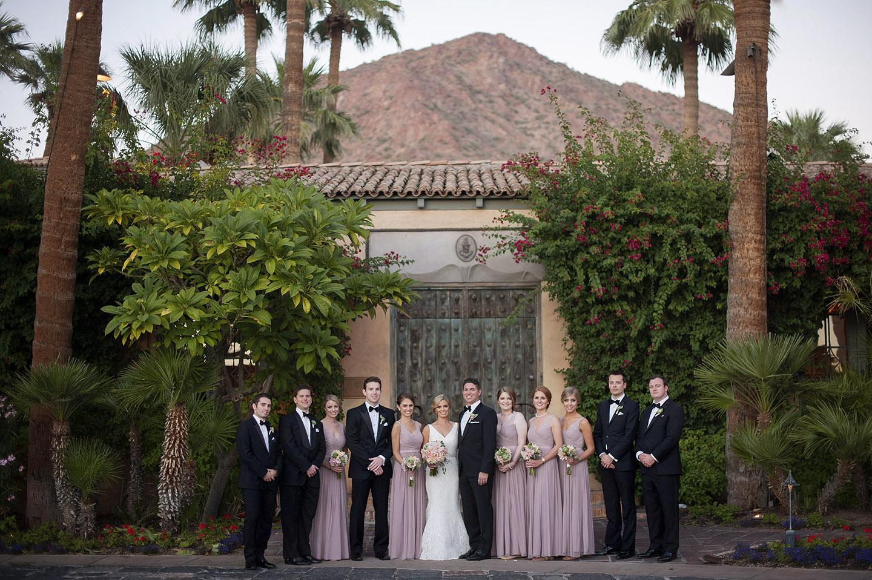Royal Palms Resort wedding