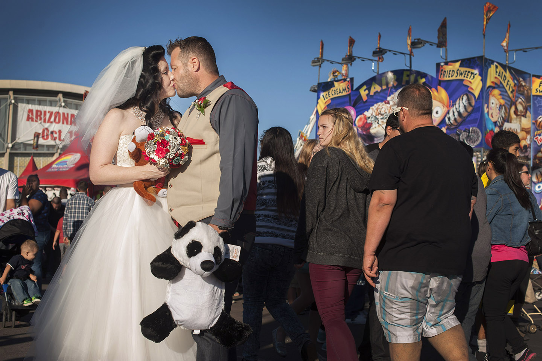 AZ State fair wedding