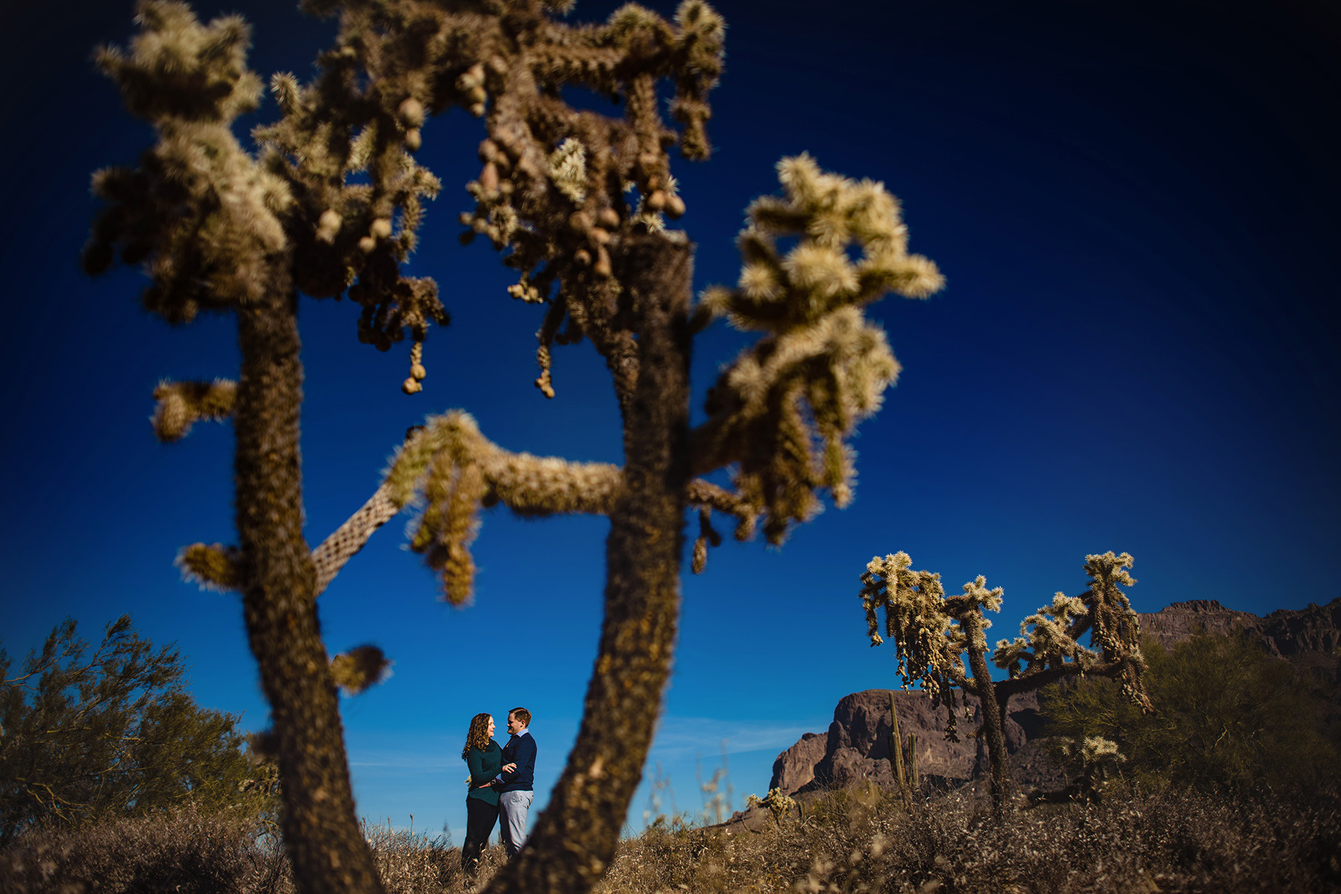 Superstition Mountains engagement