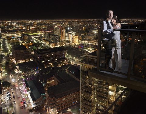 Downtown Tempe wedding