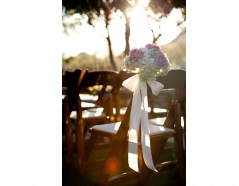 aisle runner wedding flowers Sassi Scottsdale