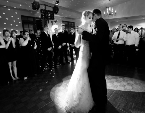 Secret Garden wedding photographer first dance