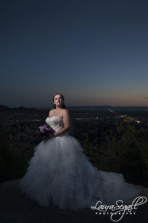 bridal portrait Phoenix wedding photographer