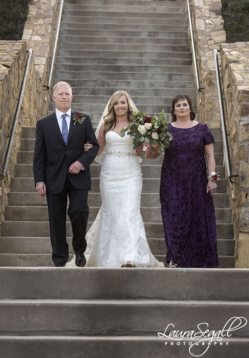 Wrigley Mansion wedding ceremony