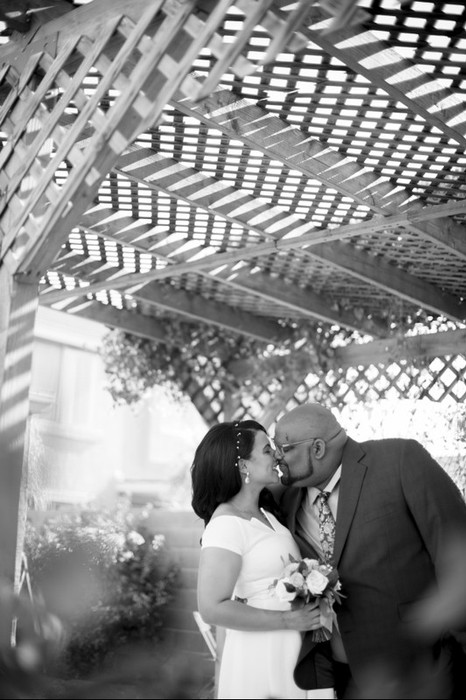 Arizona backyard wedding