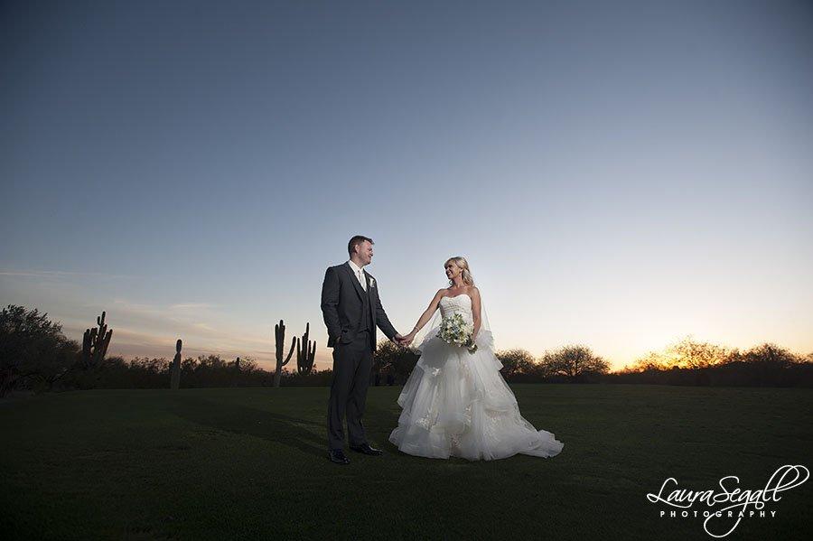 Grayhawk Golf Club wedding photographer